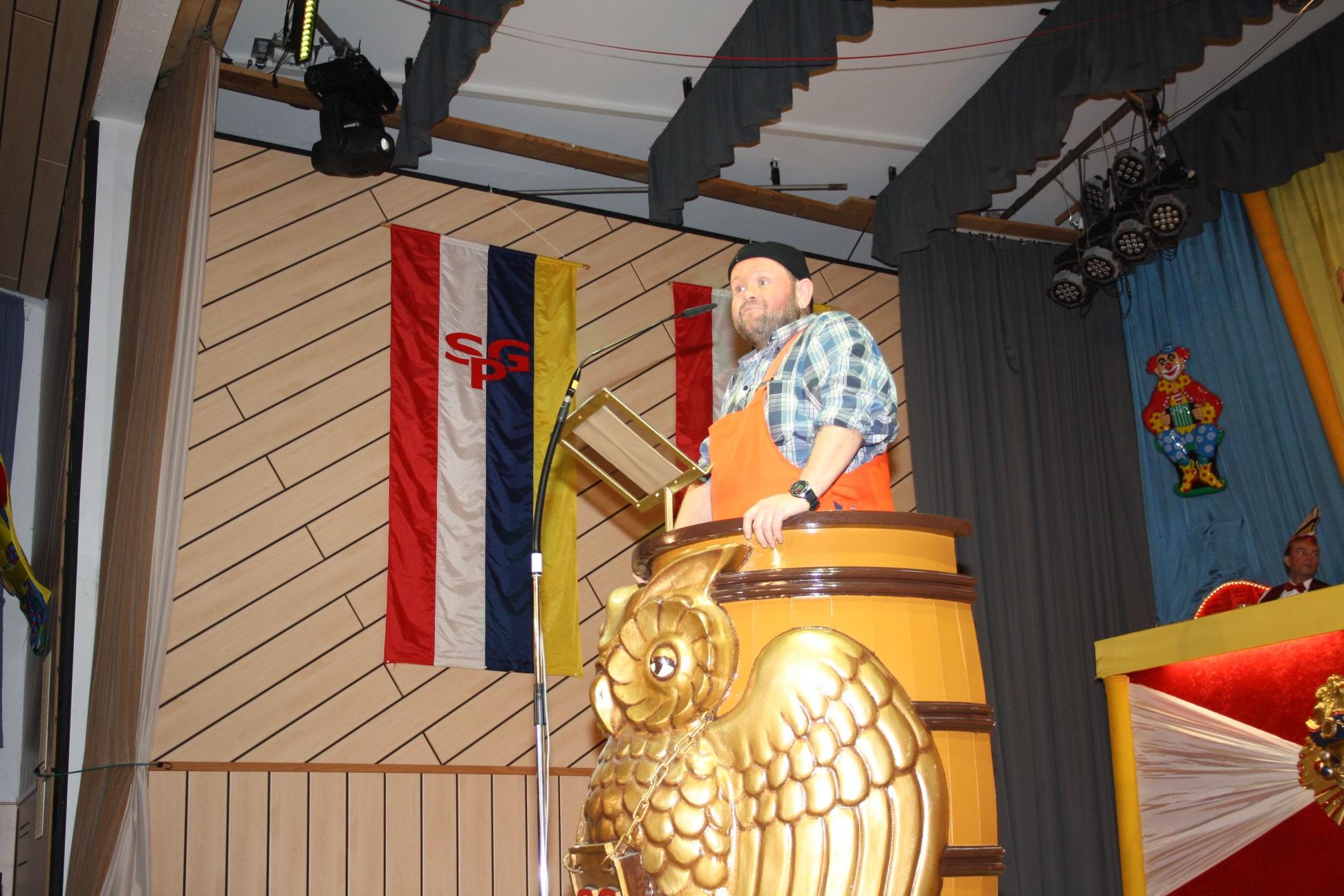 Dirk Eppelmann als Müllmann