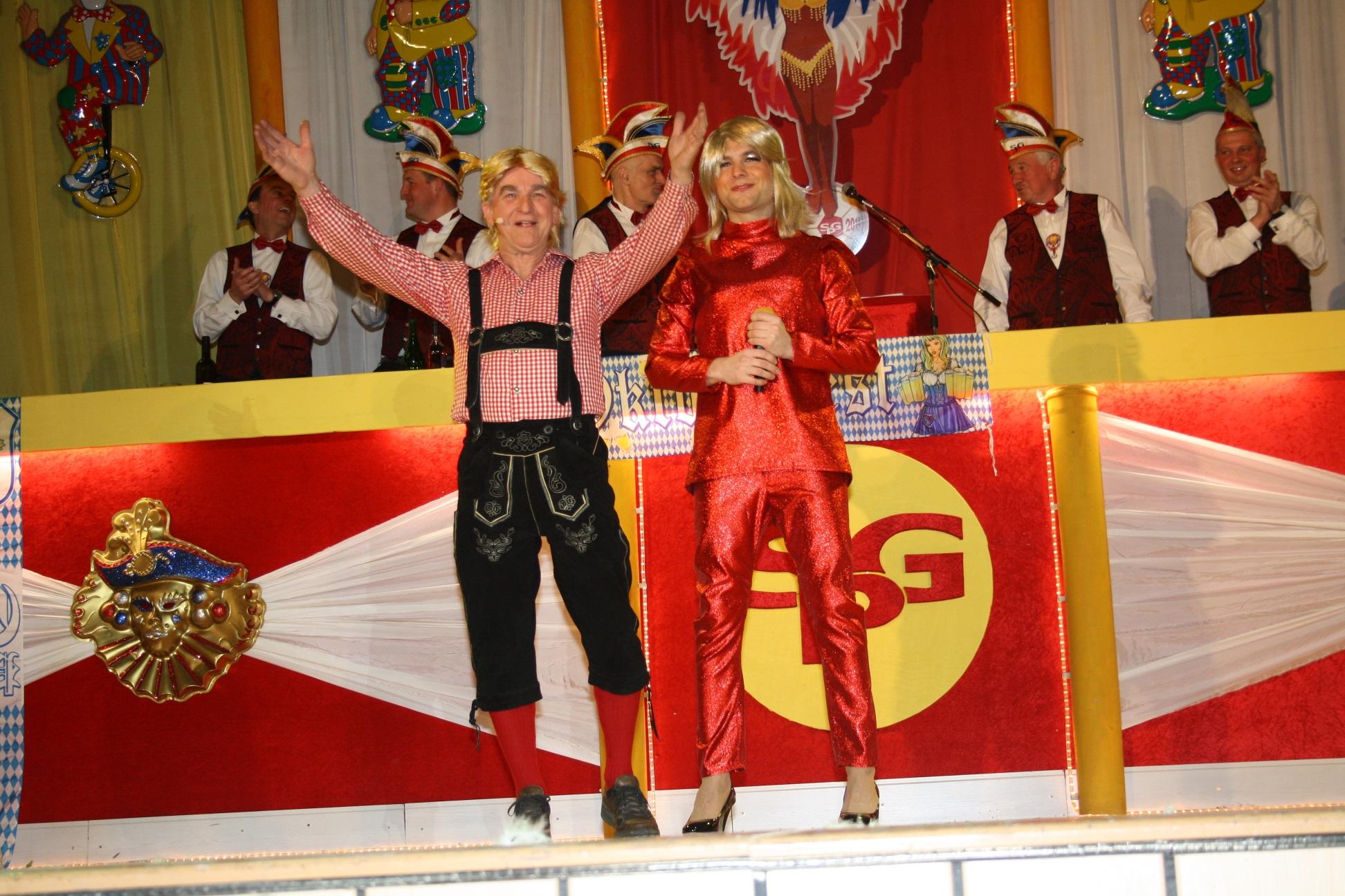 Helene Fischer mit Florian Silbereisen